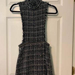 Zara tweed jumpsuit/romper